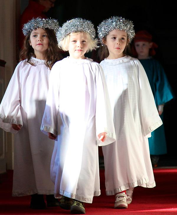children's preschool Christmas pageant